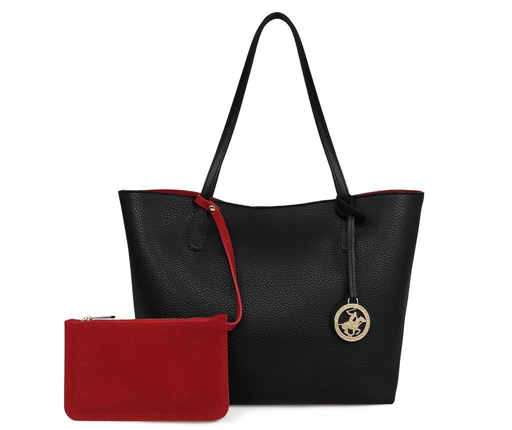 Дамска чанта Vanessa Black Red
