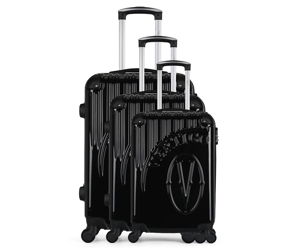 Set 3 trolere Osaka Black