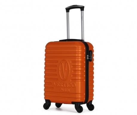 Montreal Orange Gurulós bőrönd 35 L