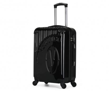 Osaka Black Gurulós bőrönd
