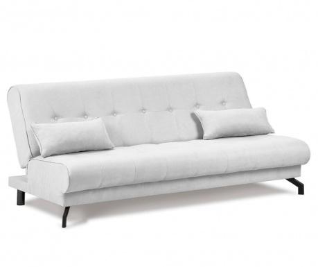 Sofa extensibila 3 locuri Musique Light Grey