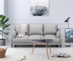 Canapea extensibila 3 locuri Ancolie Light Grey