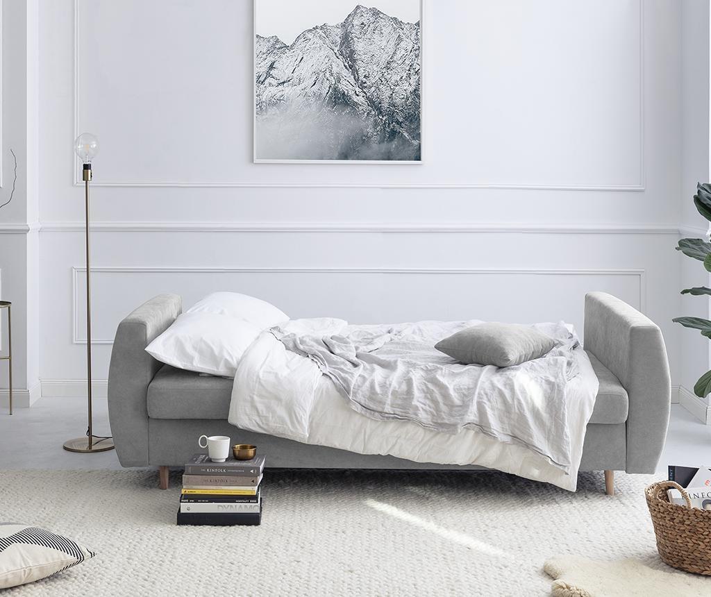 Canapea extensibila 3 locuri Orchid Grey
