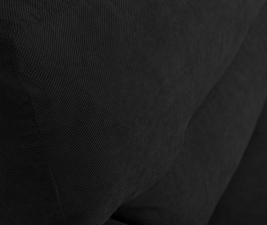 Разтегателно триместно канапе Brisbane Black