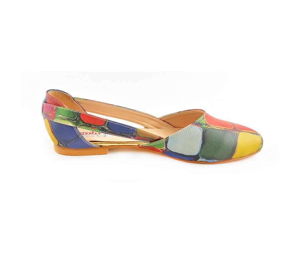 Ženske balerinke Colored Stones 38