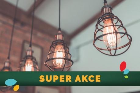 SUPER AKCE: Svítidla