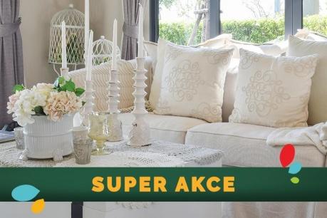 SUPER AKCE: Dekorační akcenty