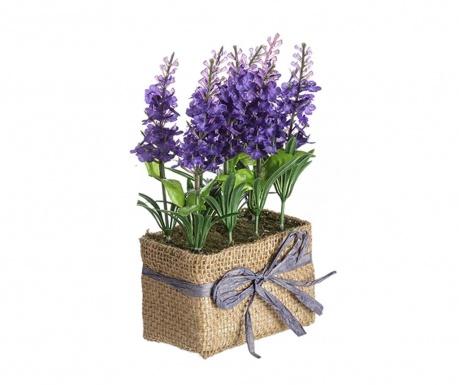 Umjetna biljka u posudi Lavander Flowers Purple