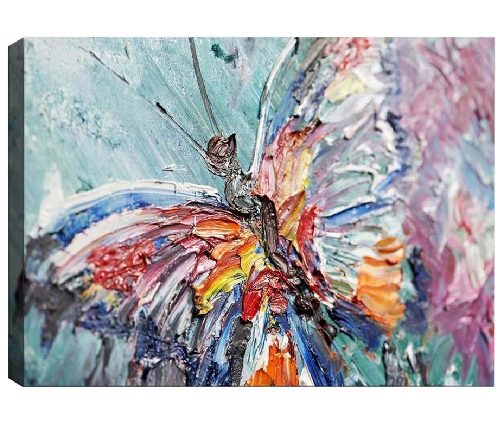 3D slika One Butterfly 50x70 cm