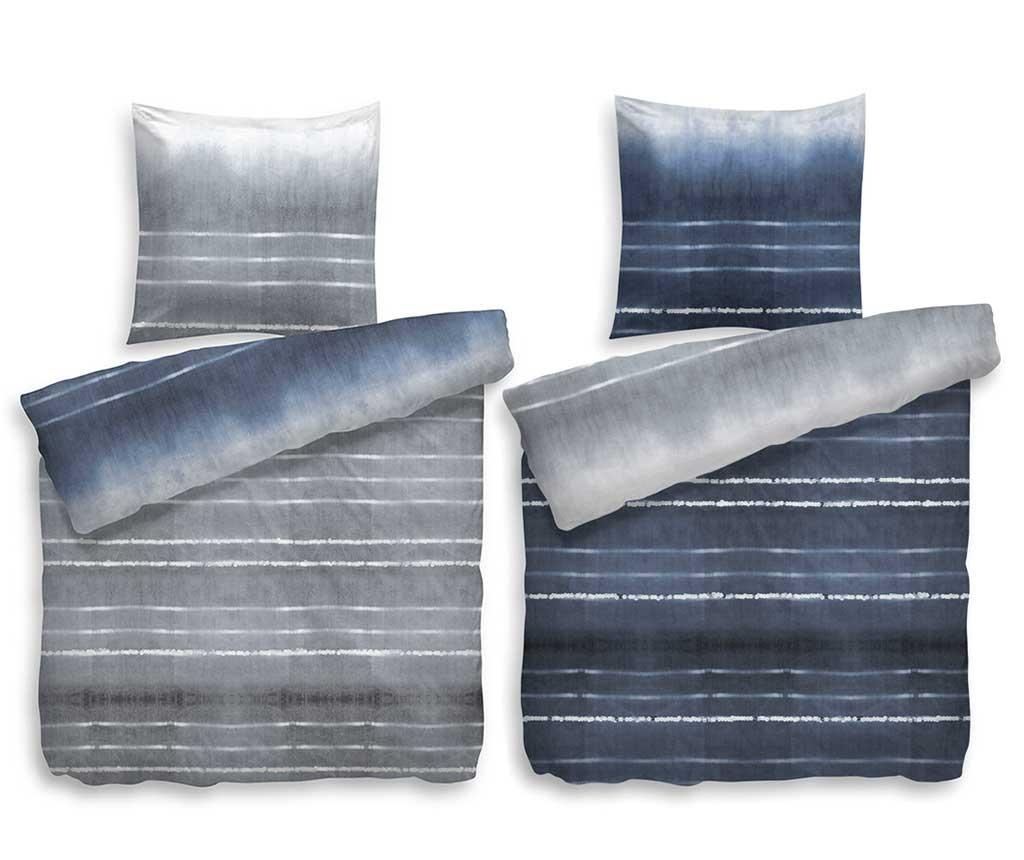 Posteljina Reverse Single Twill Extra Square Balfour Blue Grey