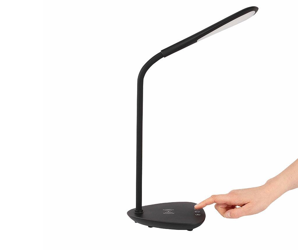 On time Black Asztali lámpa vezeték nélküli töltővel