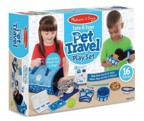 Pet Travel 2 db Játék állat és kiegészítők