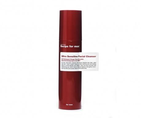 Gel de curatare fata pentru piele sensibila pentru barbati Recipe for Men 100 ml