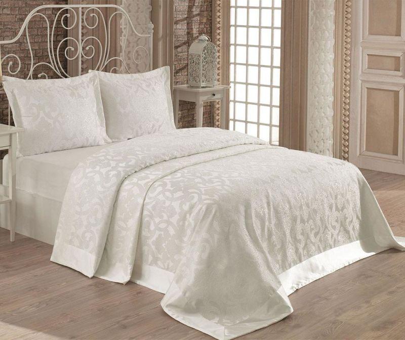 Alona Cream Kétszemélyes ágytakaró garnitúra