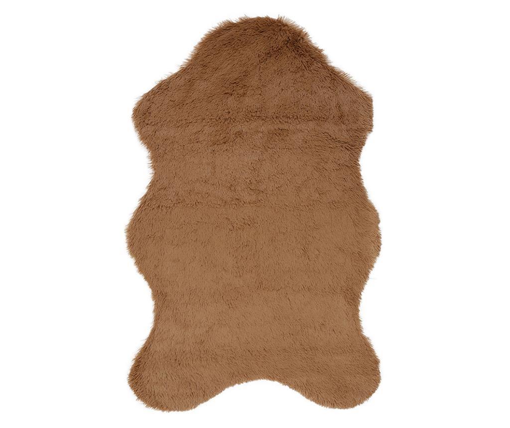 Covor Pelus Brown 60x90 cm