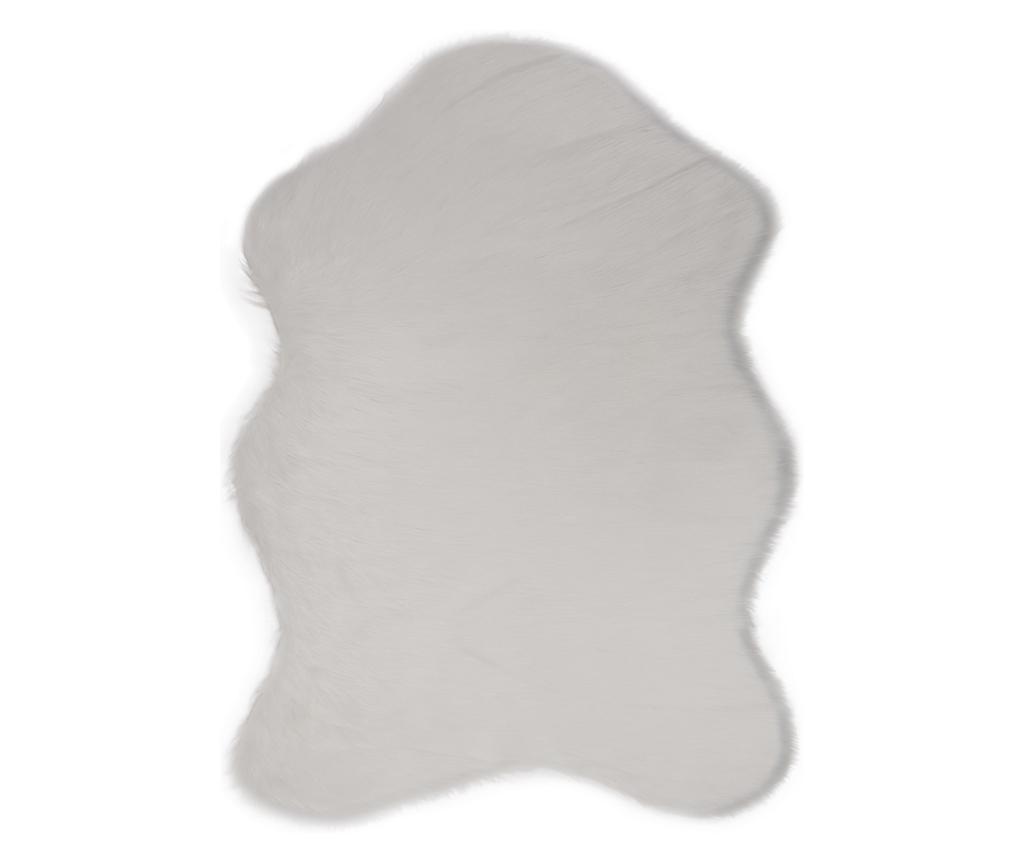 Tepih Pelus White 75x100 cm