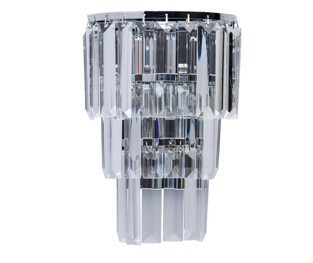 Aplica de perete Adelard Rain Silver - Classic Lighting, Gri & Argintiu
