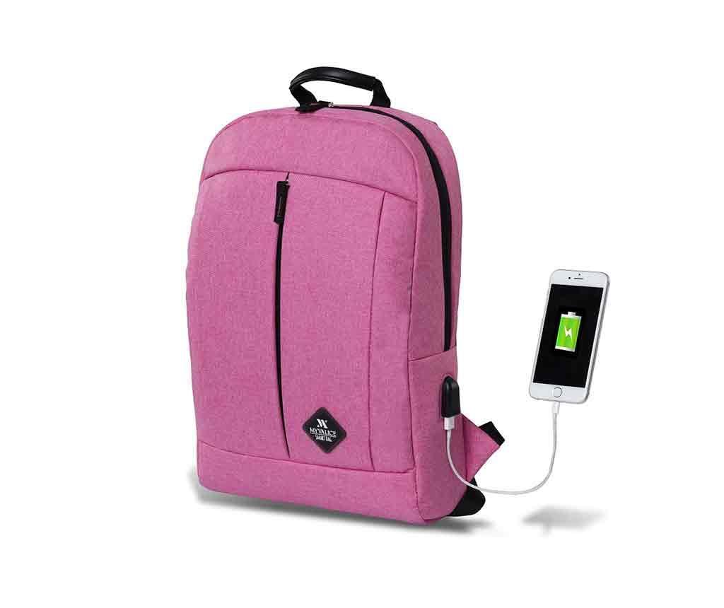 Rucsac USB Yosit Pink - MyValice, Roz