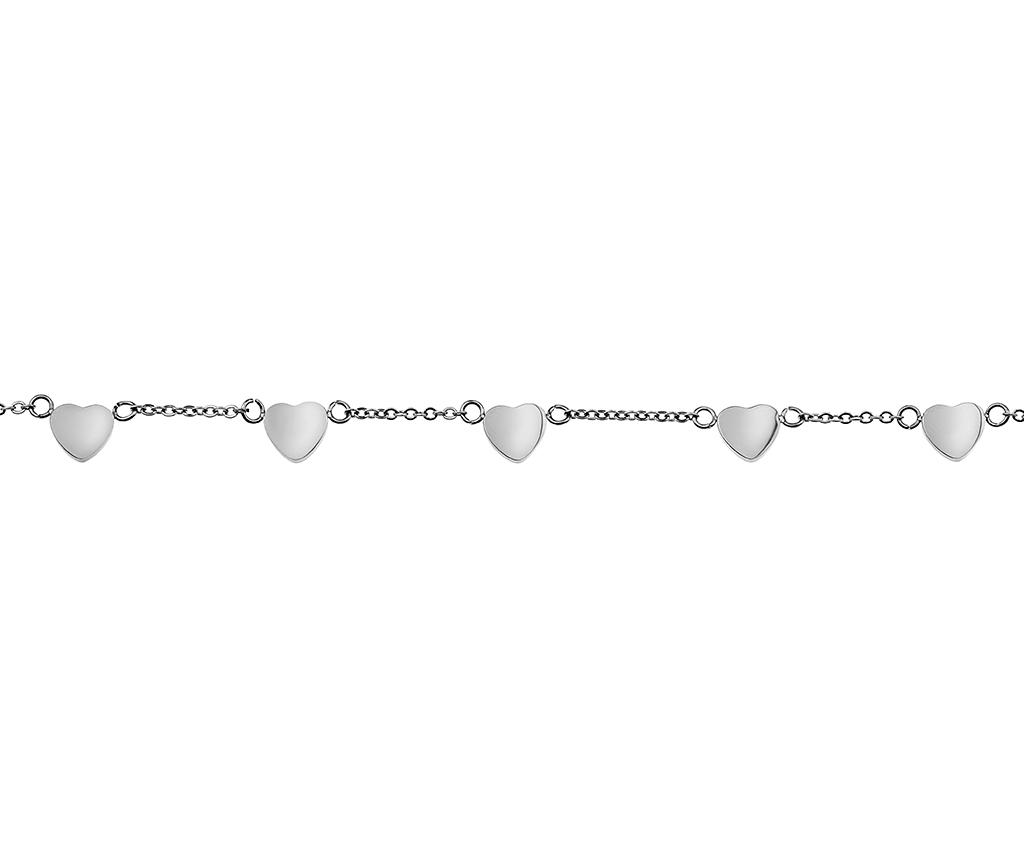 Bratara Multi Heart Silver - Emily Westwood, Gri & Argintiu