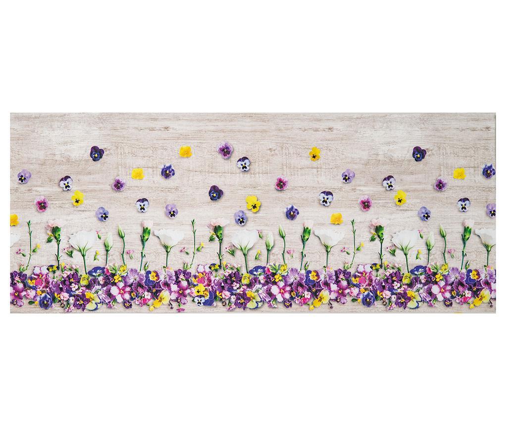 Covor Viole Del Pensiero 58x140 cm - Webtappeti, Multicolor