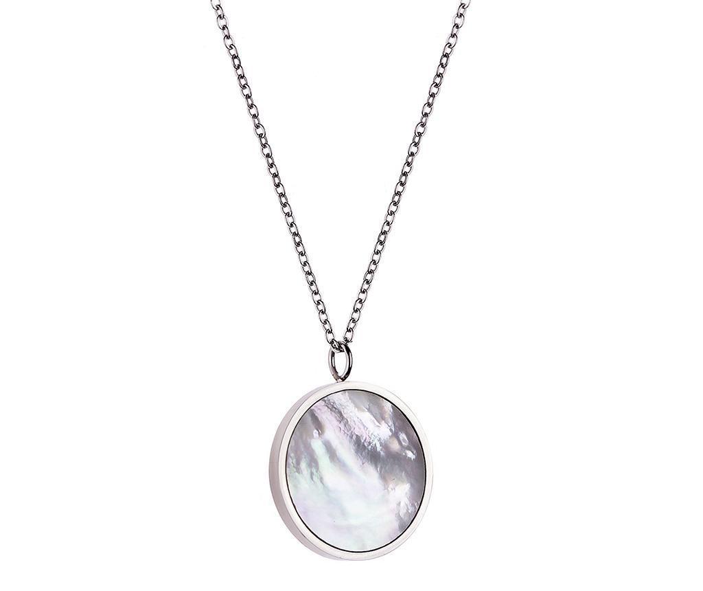 Lantisor cu pandantiv Shades - Emily Westwood, Gri & Argintiu