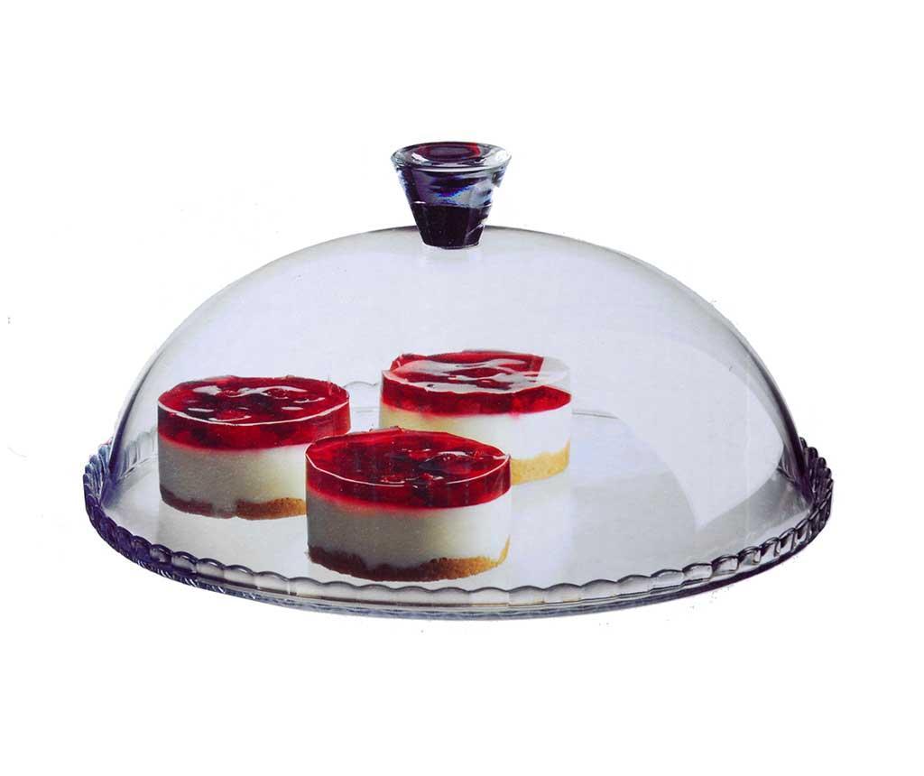 Suport cu capac tort Piece of Cake - Excelsa, Alb