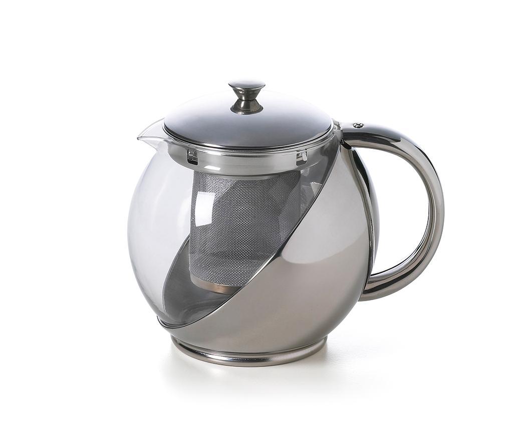 Ceainic cu infuzor Relax 900 ml - Excelsa, Gri & Argintiu