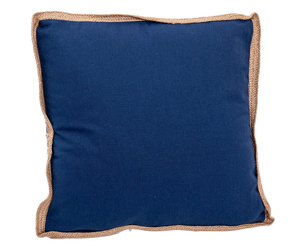 Perna decorativa Donavan Blue 45x45 cm - Garpe Interiores