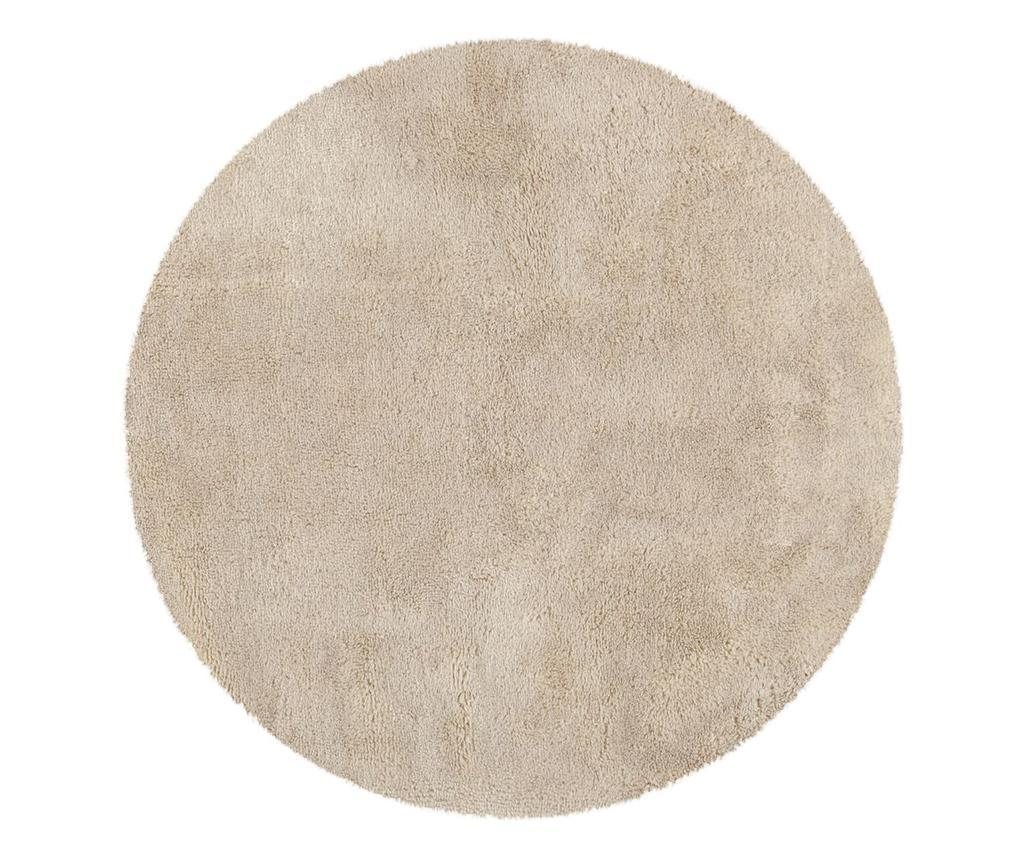 Covor Tapp Shaggy Ivory Round