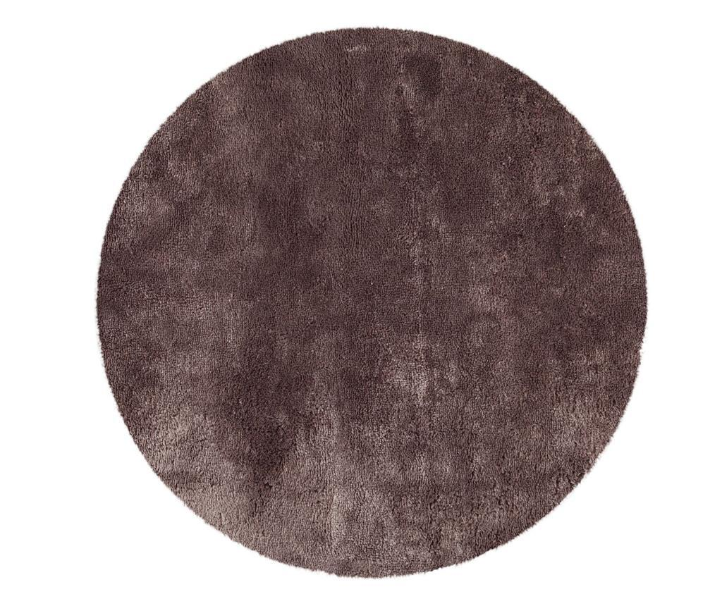 Covor Tapp Shaggy Taupe Round