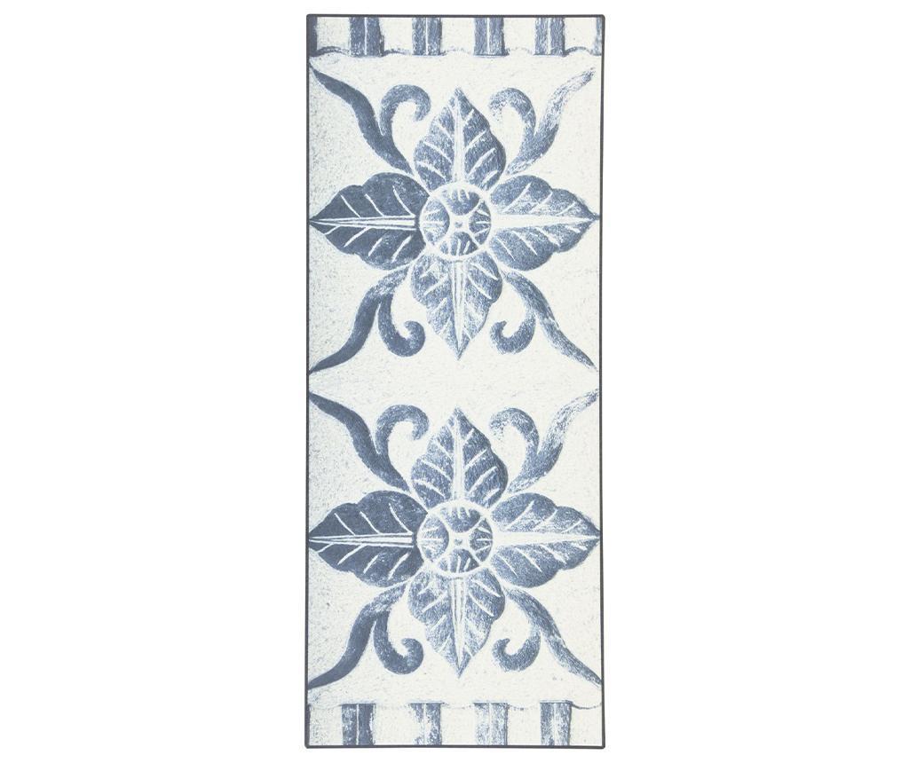 Linoleum Vinyl Ornament 50x180 cm - Viva, Albastru