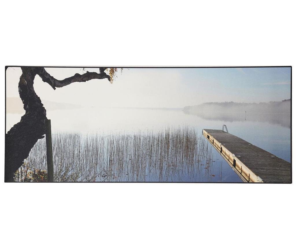 Linoleum Vinyl Fog 66x240 cm - Viva, Albastru