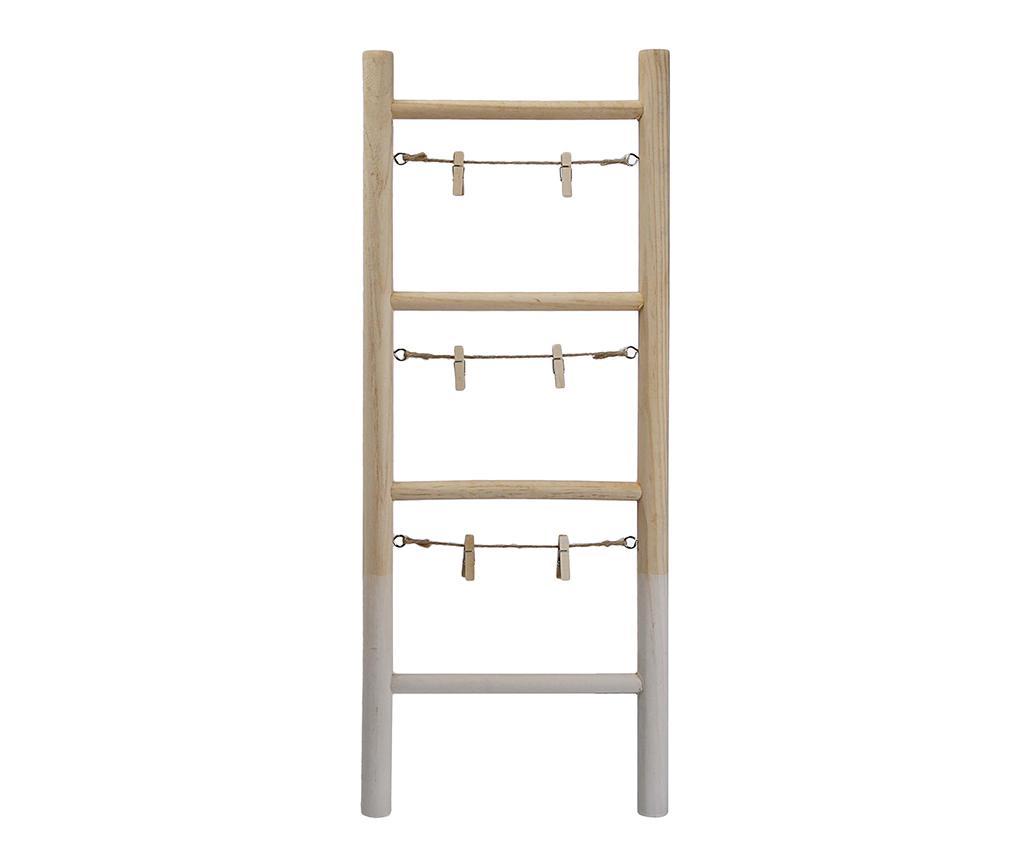 Panou 3 fotografii Ladder - Versa, Crem