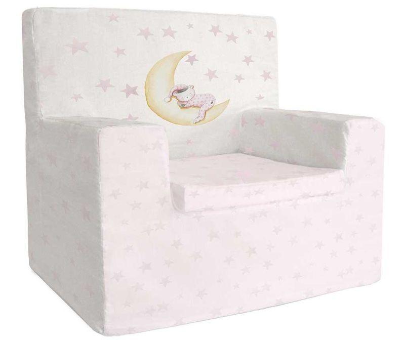 Dječja fotelja Marlon Night Pink