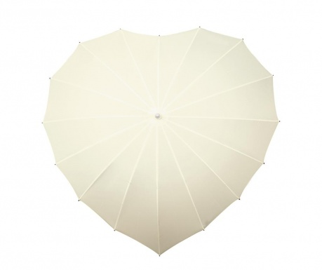 Deštník Falconetti Heart White