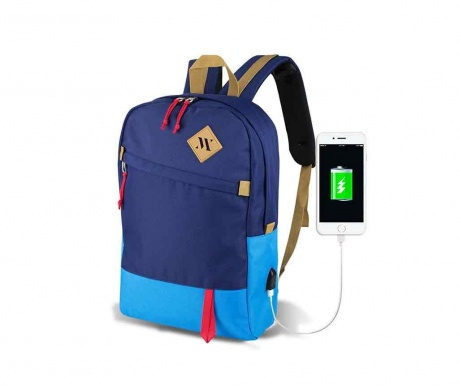 Nahrbtnik USB Abily Dark Blue