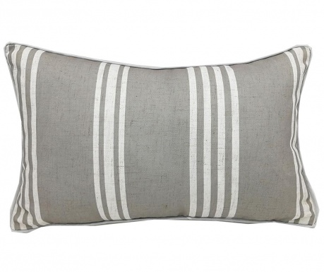 Διακοσμητικό μαξιλάρι Stripe Grey 30x50 cm