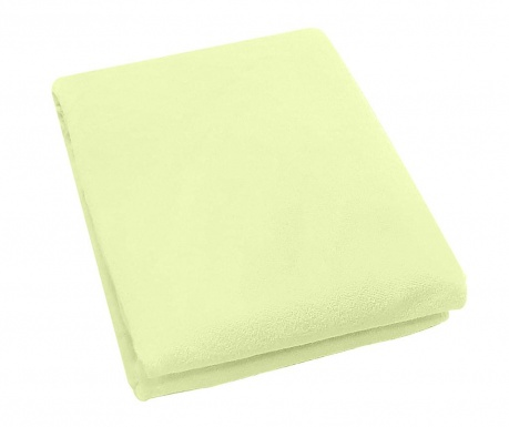 Plahta za krevetić s elastičnom gumicom Rosa Fitty Green 65x128 cm