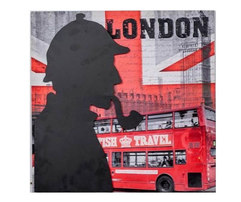 Obraz London  Coburn 40x40 cm