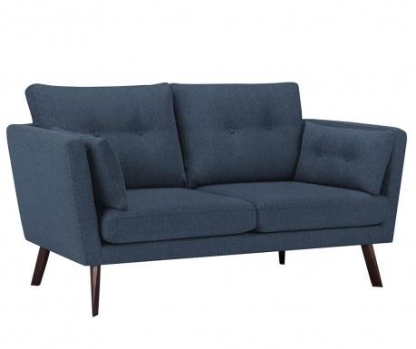 Elena Eli Dark Blue Háromszemélyes kanapé