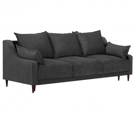 Freesia Dark Grey Háromszemélyes kihúzható kanapé