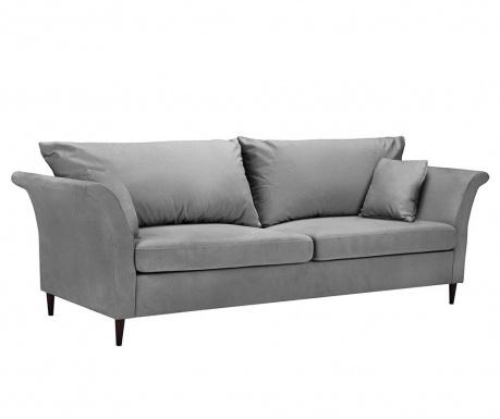 Rozkładana kanapa trzyosobowa Pivoine Light Grey