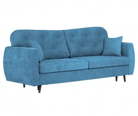 Canapea extensibila 3 locuri Popy Blue