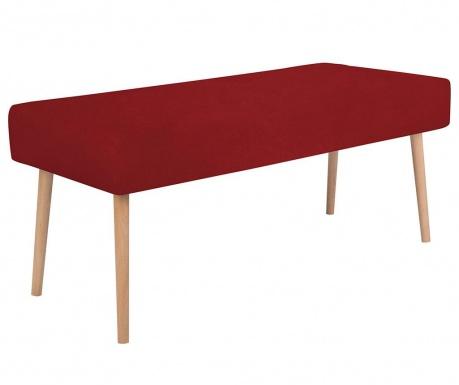 Lavička Bergamot Red