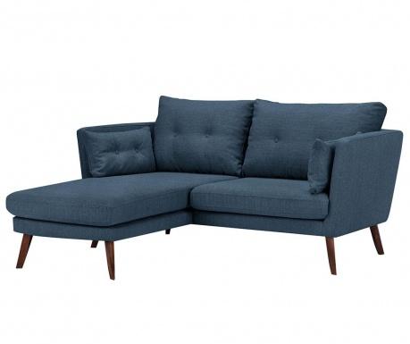 Ляв ъглов диван Elena Eli Dark Blue