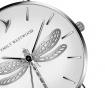 Ženski ručni sat Emily Westwood Dragonfly Silver Gold