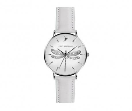 Γυναικείο ρολόι χειρός Emily Westwood Dragonfly White