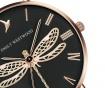 Ceas de mana dama Emily Westwood Dragonfly Black Rose