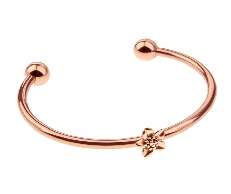 Flower Cuff Rose Gold Karkötő
