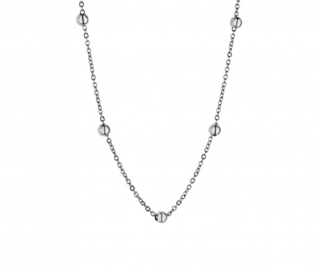 Lantisor Chain Bubbled Silver